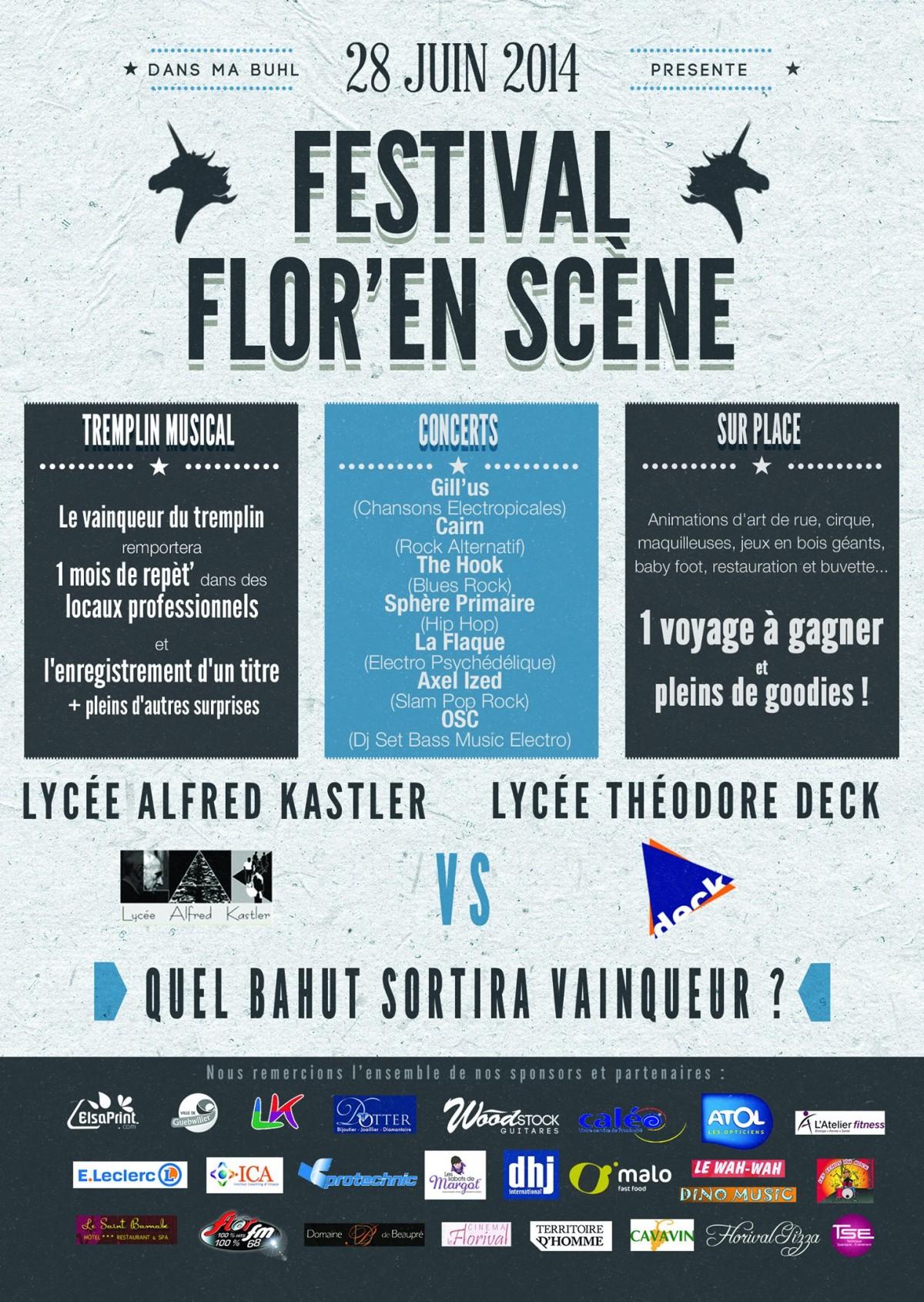 Flor' en Scène 2014