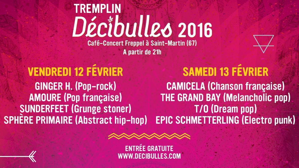 Tremplin Décibulles 2016