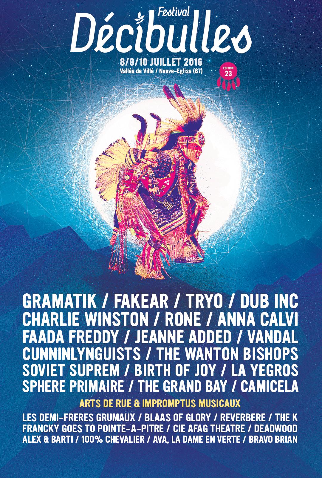 Festival Décibulles 2016